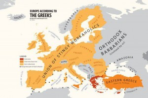 europe according to the greeks